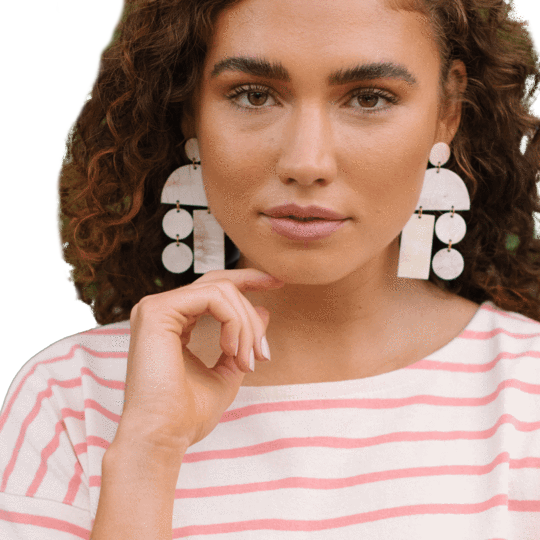 HORN MOBILE EARRINGS