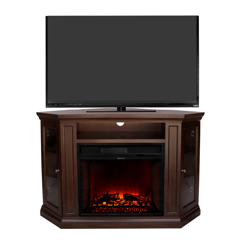 Barton 40 Quot Tv Stand Fireplace Corner Stand Media Console