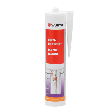 Wurth Acrylic Sealant White - 310 ml