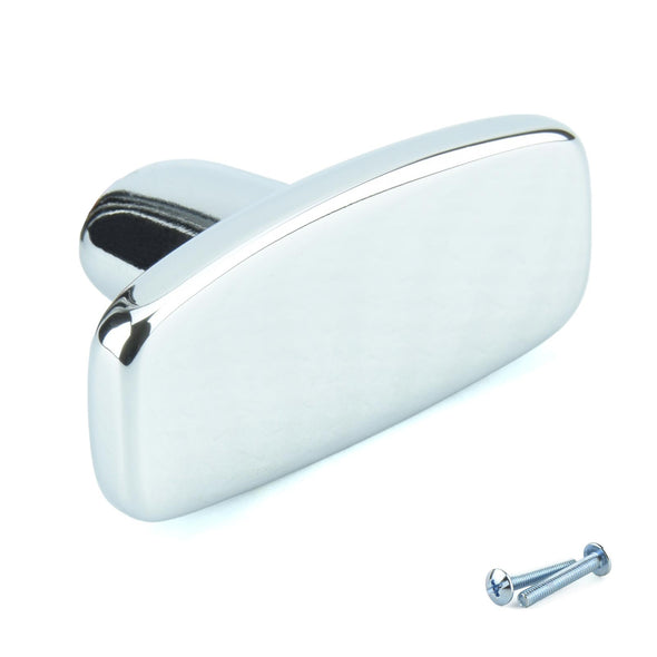 Compact Door/Drawer Knob with a Polished Chrome Finish R3