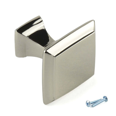 Classic Square Polished Chrome Knob Handle B9
