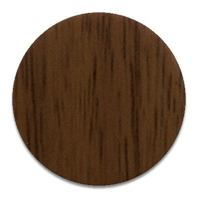 Tobacco Walnut KwikCaps - Self Adhesive pvc Screw Cover Caps