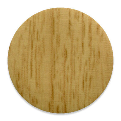 Light Calais Oak Kwikcaps - Self Adhesive pvc Screw Cover Caps