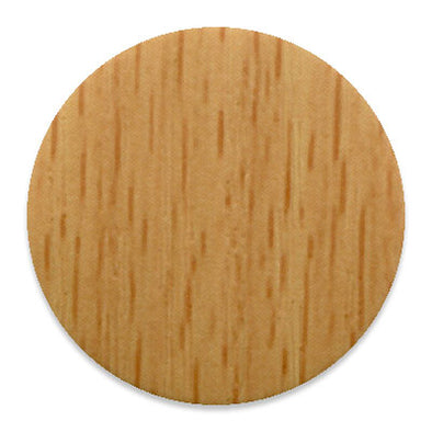 Ellmau Beech KwikCaps - Self Adhesive pvc Screw Cover Caps