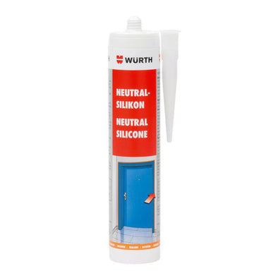 Wurth Neutral Silicone Transparent - 310 ml