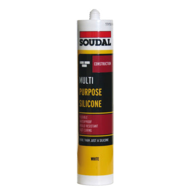 Silicone Sealant, Multi-Purpose, Tube 300 ml
