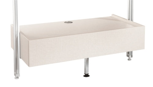 Space Pro Relax furniture - Media Unit - Linen effect