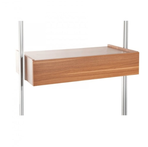 Space Pro Relax furniture - Trouser rack - Walnut effect