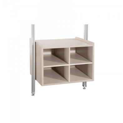 Space Pro Relax furniture - W550 Matrix unit - Linen effect