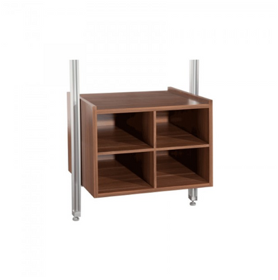 Space Pro Relax furniture - W550 Matrix unit - Walnut