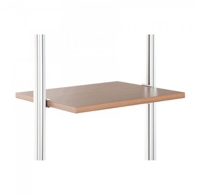 Space Pro Relax furniture - W550 shelf - Walnut