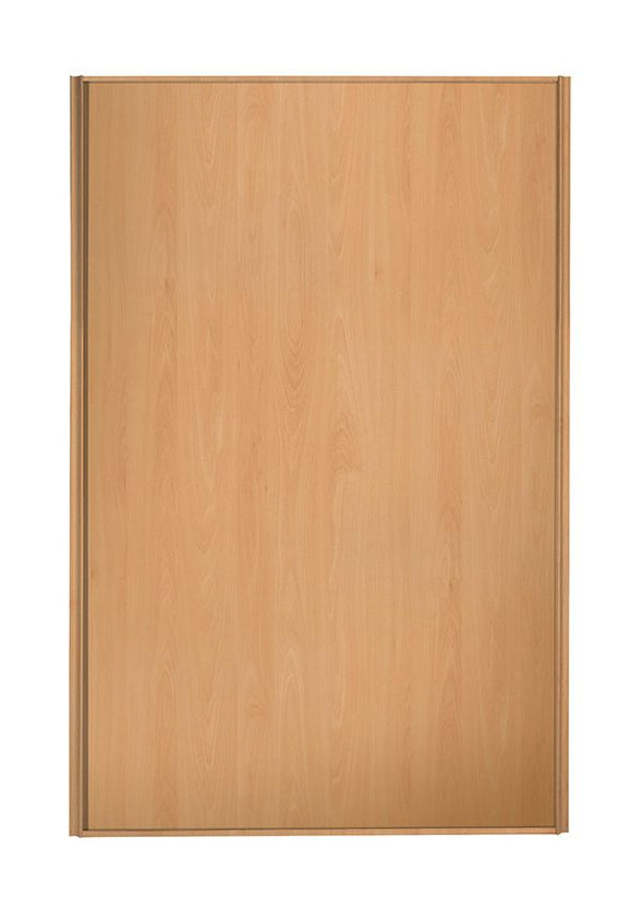 Heritage Beech Frame Beech Panel Loft / Attic Sliding Wardrobe Door