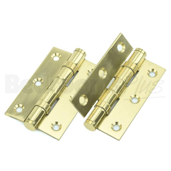 Electro Brass Interior Butt Door Hinge - Fixings Included - 2pcs ZD4