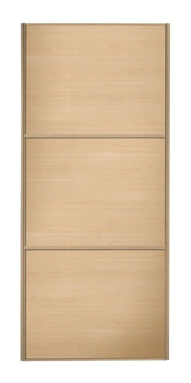 Classic Maple Frame Maple/Maple/Maple Panel Sliding Wardrobe Door