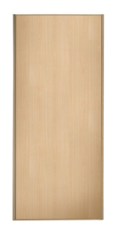 Heritage Maple Frame Maple Panel Sliding Wardrobe Door