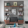 Space Pro Relax furniture - W900 narrow shelf - Linen effect