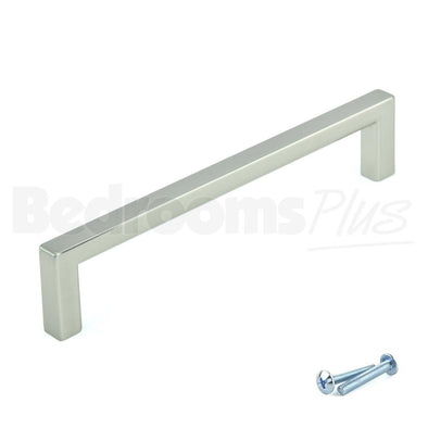 Stainless Steel Finish Drawer and Door Handles R7