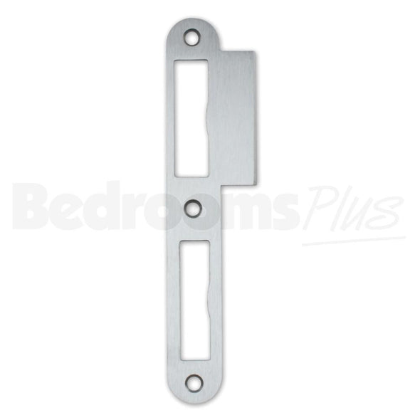 Stainless Steel Strike Locking Door Plate - DIN L - For Single - Double-Turn ZB7