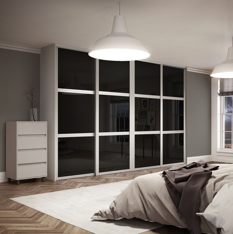White Interior 3 Panel Doors Nice Looking Frosted Sliding Single