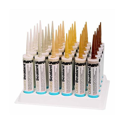 Unika ColorSealant 310ml Acrylic Gap Mastic Filler. Wood Colour Matched. Waterproof