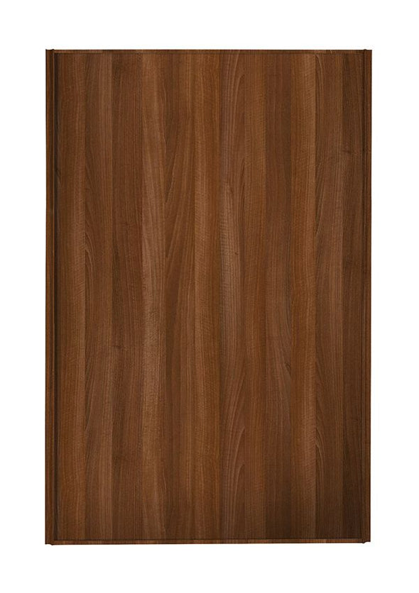 Heritage Walnut Frame Walnut Panel Loft / Attic Sliding Wardrobe Door