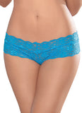 All Lace Lattice Back Panty - 3 Pack