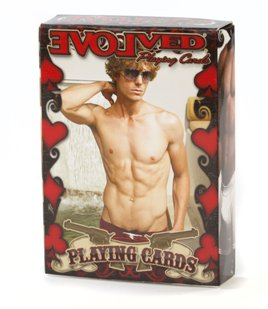 Evolved Sexy Male Playing Cards