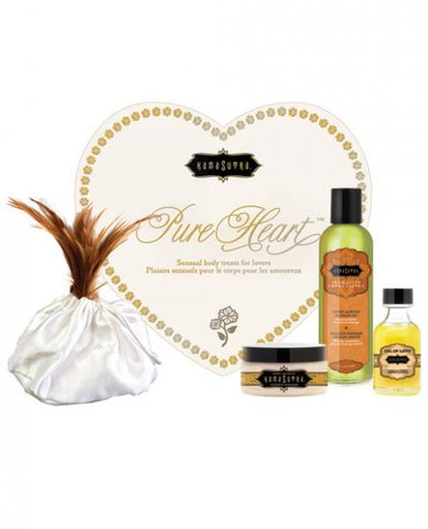 Vanilla Kama Sutra Pure Heart Massage Kit