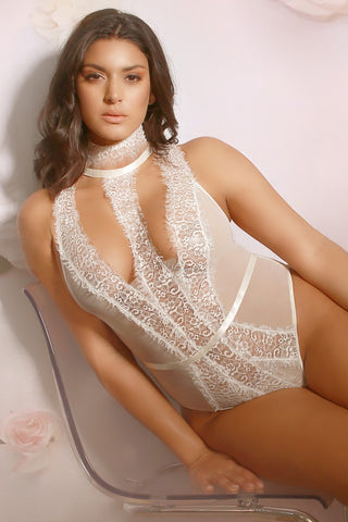 Plus Size Drop Back Teddy