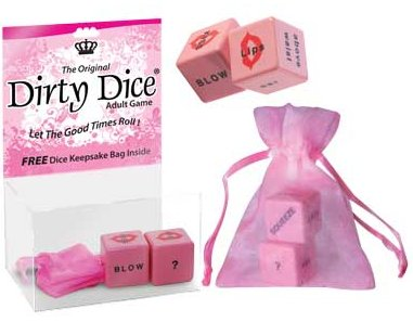 Dirty Dice - Individual Game in Keepsake Bag