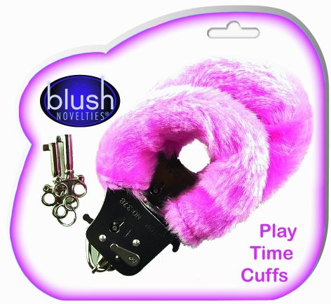 Playtime Cuffs - Pink Fur
