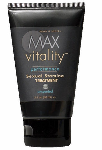 Max 4 Men - Max Vitality Sexual Stamina Treatment - 2 oz tube