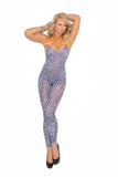 Arctic Leopard Bodystocking