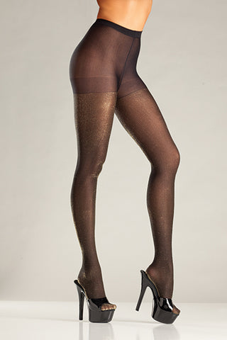 Shimmery Opaque Tights