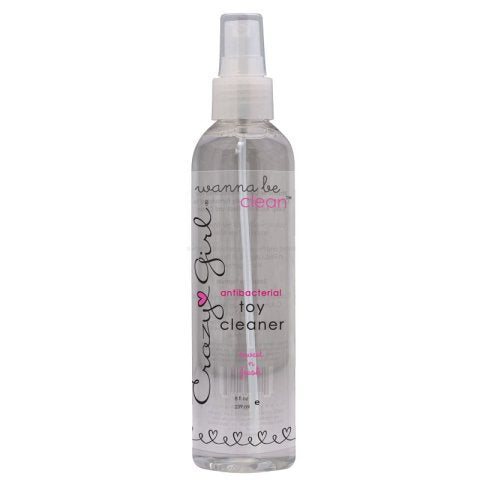 Crazy Girl ® Wanna Be Clean - Toy Cleaner - 8 oz.