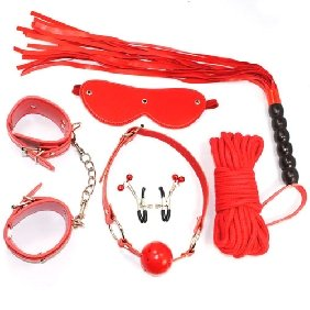 Six Piece Couples Bondage Kit
