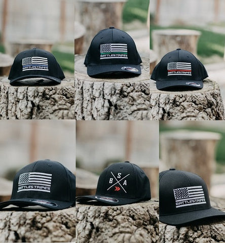 Black FlexFit Hats