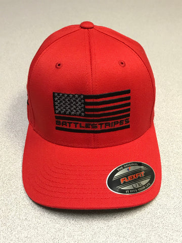 Red  Flexfit Hat