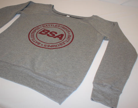 Ladies' BSA Slouchy Sweatshirt