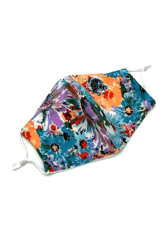 Blue Floral Face Mask from Southern Sunday, the boutique that gives back.  Southern Sunday offers the latest in ladies fashion and accessories at affordable prices.  Southern Sunday also offers a selection of gifts and home decor items.  Southern Sunday is located in Midway, KY, outside of Lexington, Kentucky.  Shop Southern Sunday online or in store at their boutique. Free shipping on orders over $75