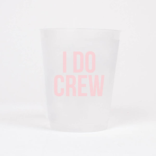 Bride/Crew Reusable Cup Set