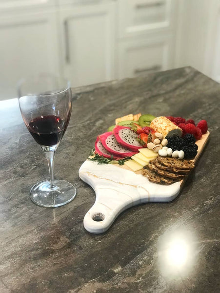 Custom Resin Cheeseboard from Southern Sunday, the boutique that gives back.  Southern Sunday offers the latest in ladies fashion and accessories at affordable prices.  Southern Sunday also offers a selection of gifts and home decor items.  Southern Sunday is located in Midway, KY, outside of Lexington, Kentucky.  Shop Southern Sunday online or in store at their boutique.