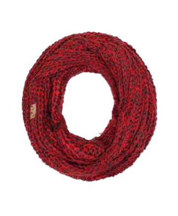Cozy infinity scarf from Southern Sunday.  Great gift for $25.  Comes in Coffee/Burgundy combo.