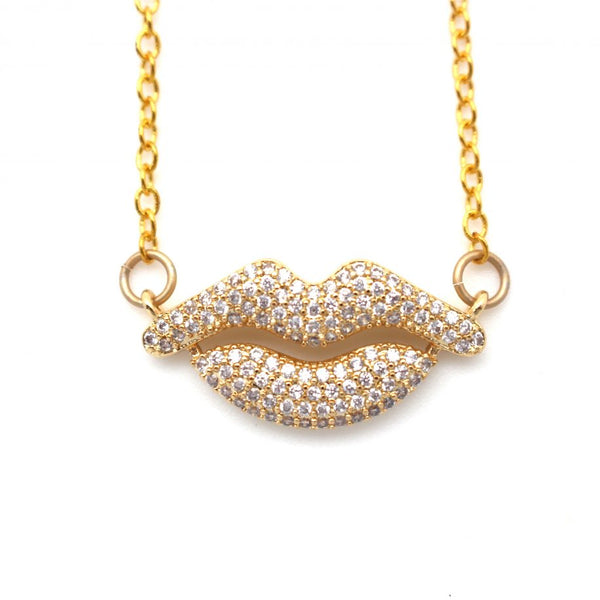Lips Necklace from Southern Sunday, the boutique that gives back.  Southern Sunday offers the latest styles of ladies clothing and accessories at affordable prices.  Southern Sunday is located in Midway, KY, outside of Lexington, KY.  Shop Southern Sunday online or in store!