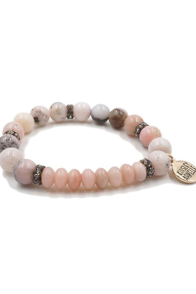 Pink Lady Beaded Bracelet from Southern Sunday, the boutique that gives back. Southern Sunday offers the latest styles in ladies clothing and accessories at affordable prices. Southern Sunday is located in Midway, KY, outside of Lexington, KY. Shop Southern Sunday online or in store.