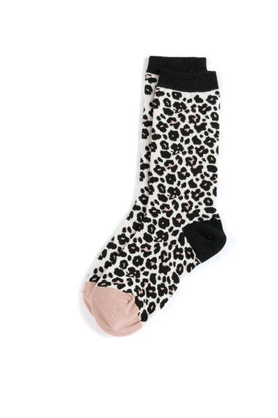 Leopard Socks from Southern Sunday, the boutique that gives back.  Southern Sunday offers the latest in ladies fashion and accessories at affordable prices.  Southern Sunday is located in Midway, KY, outside of Lexington, Kentucky.  Shop Southern Sunday online or in store at their boutique.
