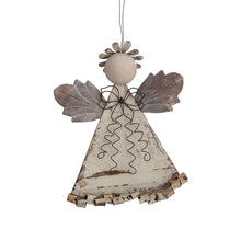Load image into Gallery viewer, Metal Angel Ornament