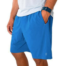 Load image into Gallery viewer, Men's Free Fly Bamboo Hybrid Shorts Bright Blue