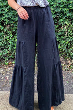 Load image into Gallery viewer, Camille Linen Pants - Black