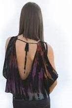 Load image into Gallery viewer, Kym Black Tie Dye with Open Back